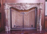 French Style Fire Screen