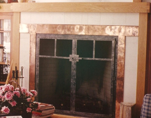 Custom Fireplace Screens, Fire Screens - Handcrafted By ...