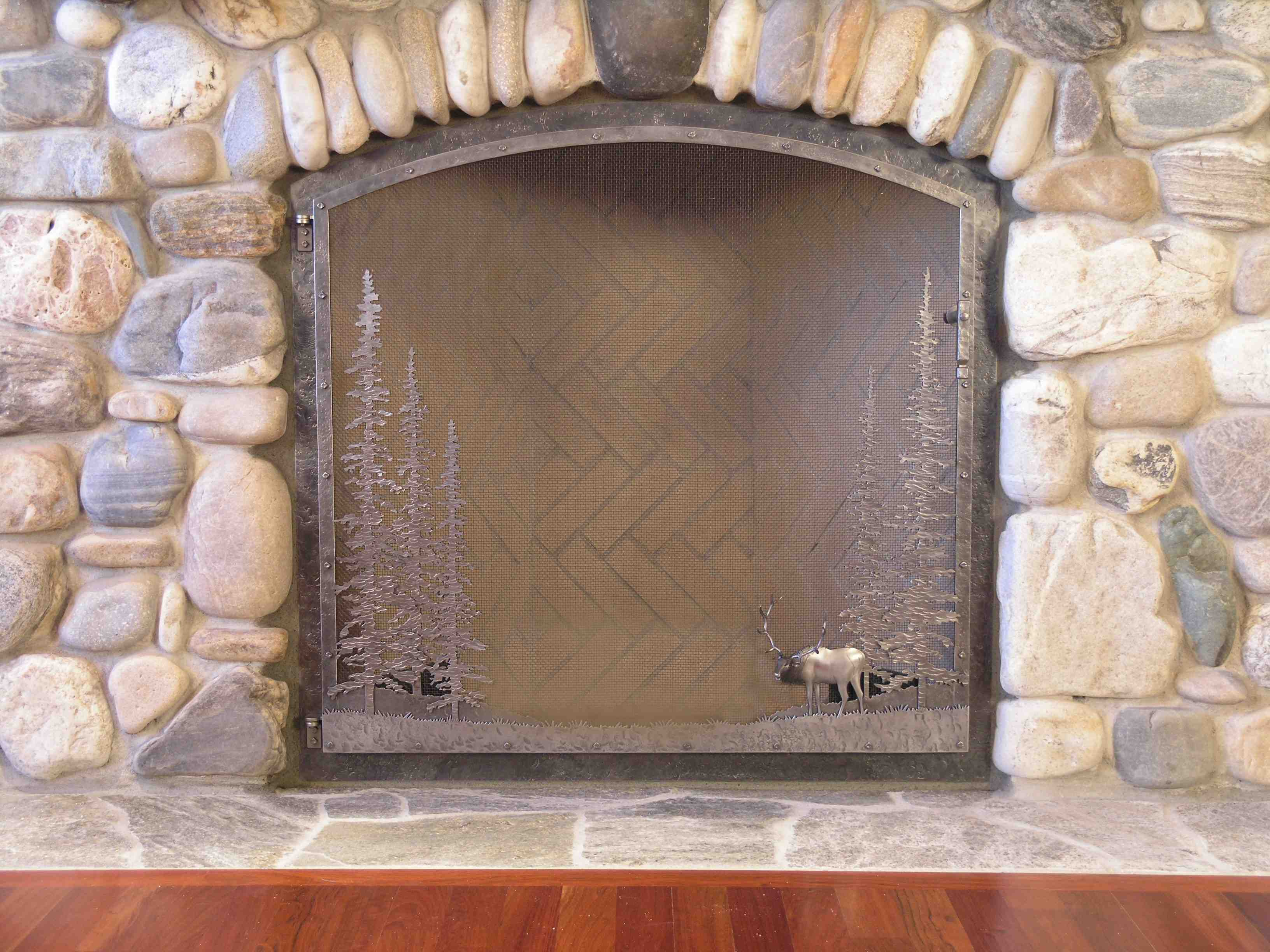 centerpiece fireplace tudor this simple screen otherwise beautiful design pin a the custom style an is in